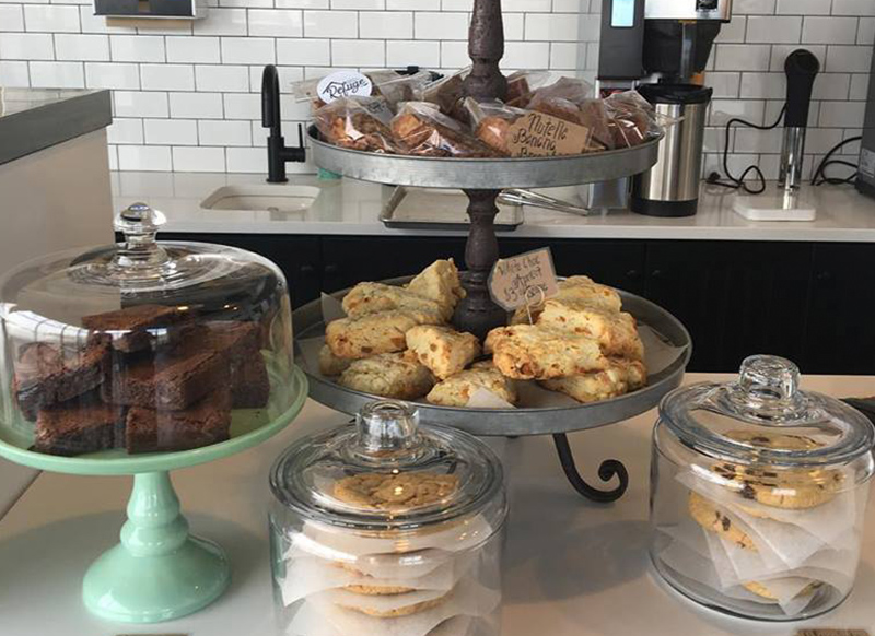 BAKERY - Inspired by the warm feelings of a fresh chocolate chip cookie, we aim to bring an array of comforting baked goods, scones, muffins and more. We bake with quality ingredients, like Callebaut Chocolate, pure vanilla and no shortage of butter!