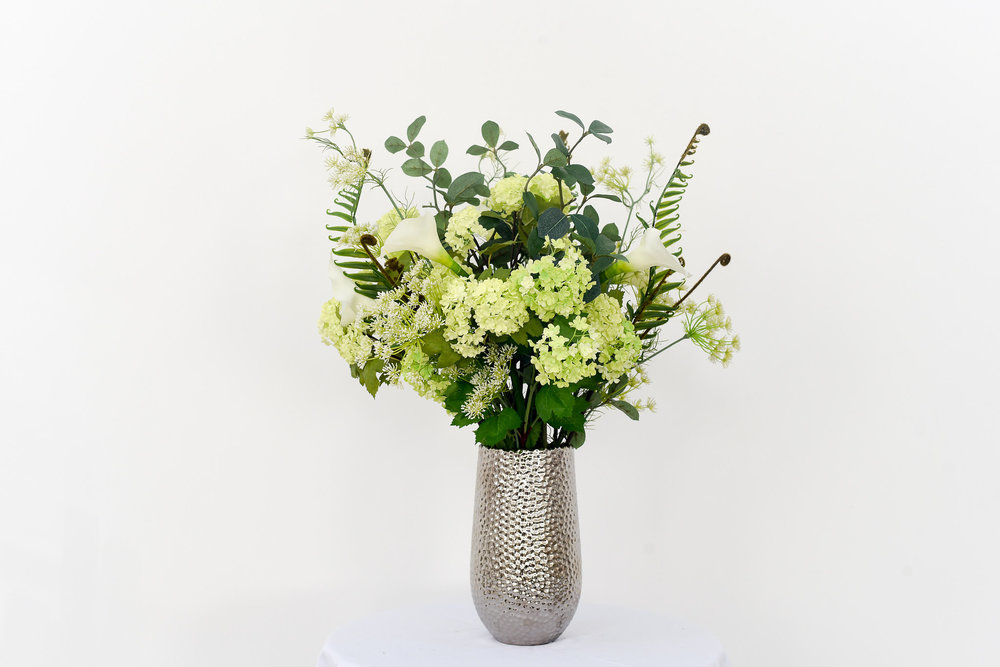 Artificial flowers can look fantastic and last forever
