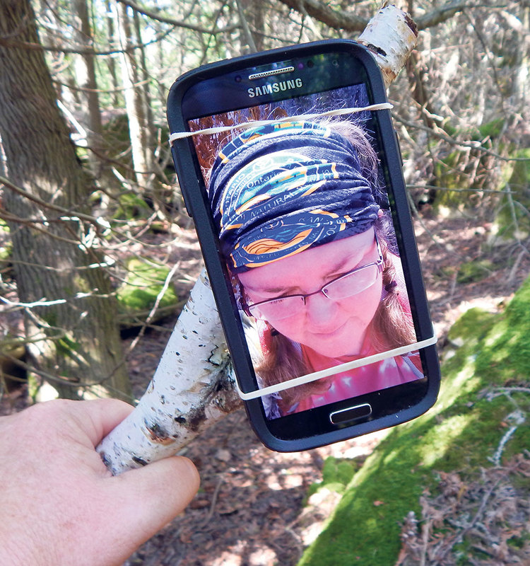 There's no need to leave your smartphone behind when venturing into the woods. From identifying birds to using built-in compasses, and even improvising your own selfie stick to document the experience, there are many tools available to enhance your experience. KERRI JEROME