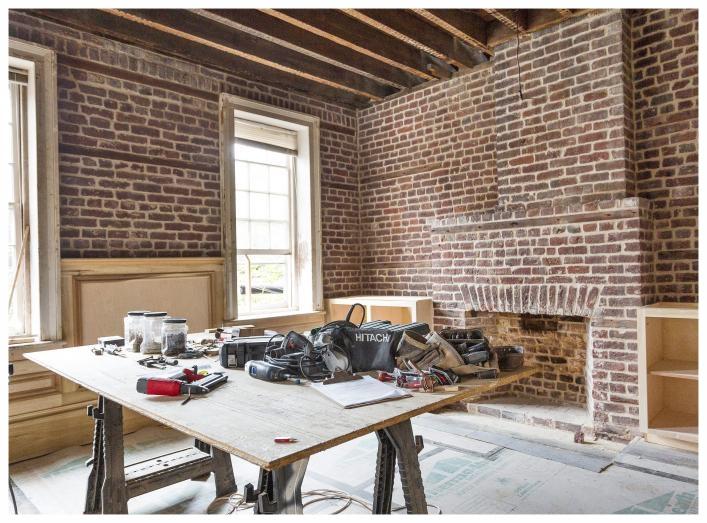 Exposed Bricks / Photo by Kate Thornton