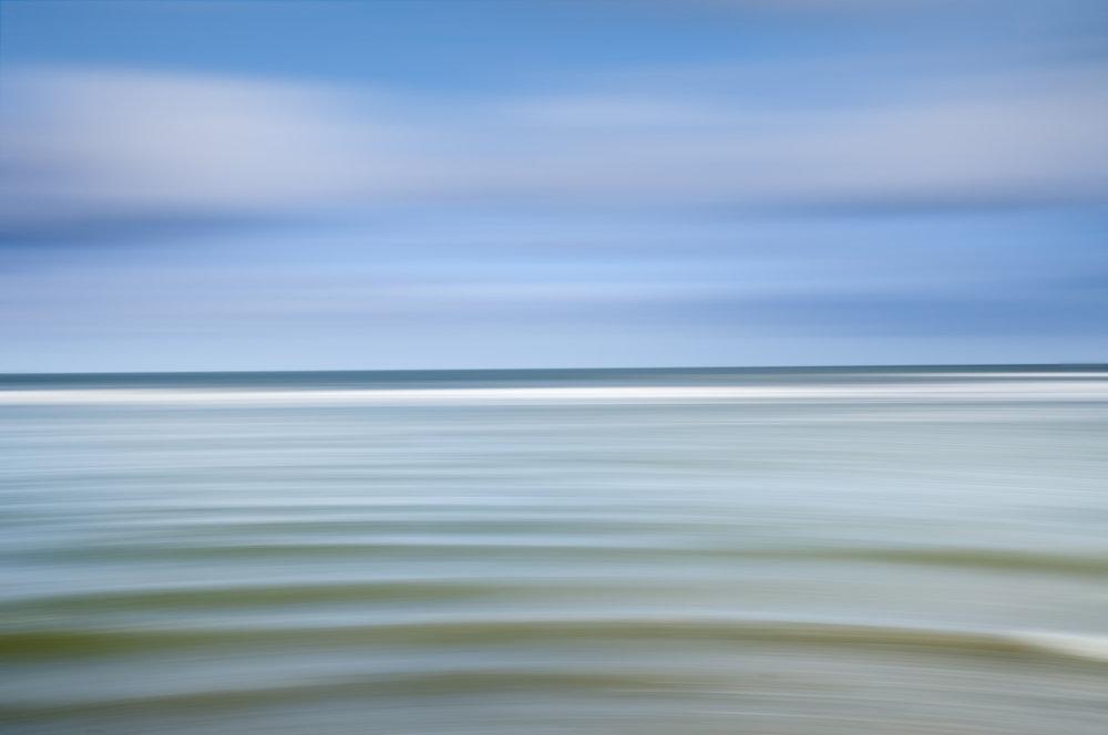 "Landscape Abstract 71800 Sullivan's Island Artist Proof 1/2 40x60"" Wenge Frame"