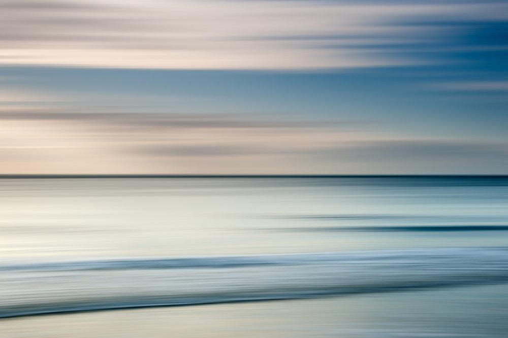 "Landscape Abstract 65280 Sullivan's Island Edition 1/5 40x60"" Wenge Frame"