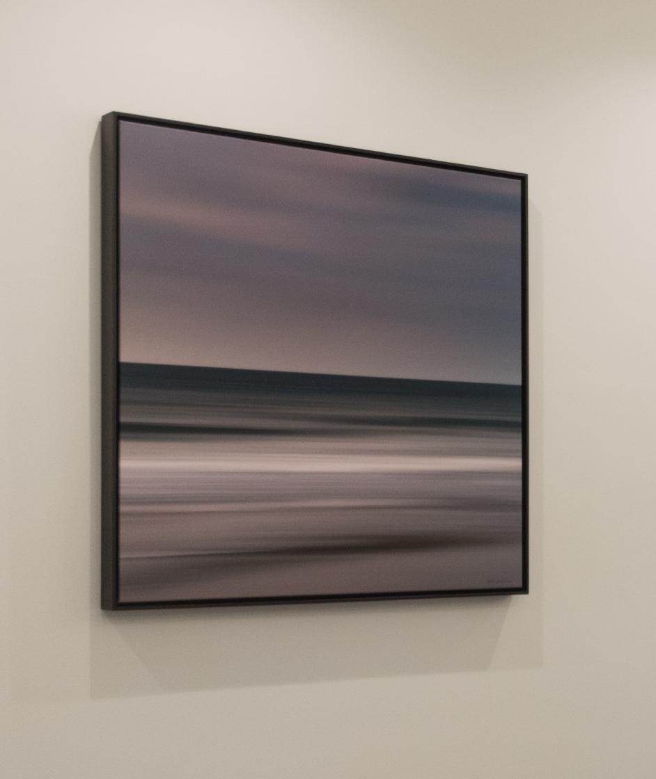 """Landscape 10382 Square Edition 1/5 40x40"""" Wenge Frame"""