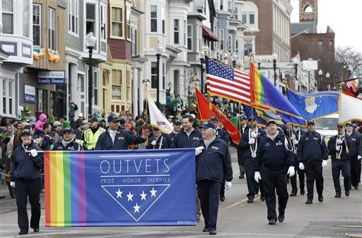 St Patricks Parade Gays