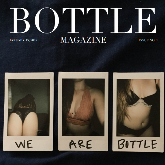 Bottle Mag Cover - square