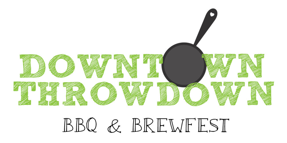 Downtown Throwdown BBQ and Brew logo