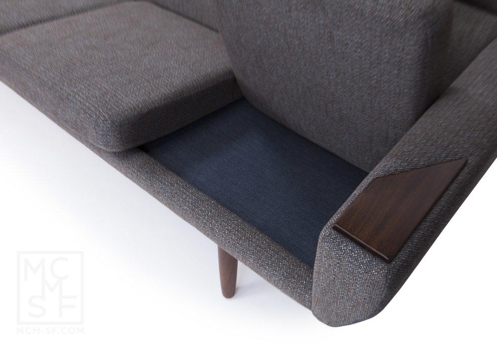 Mid Century Modern Danish Sofa