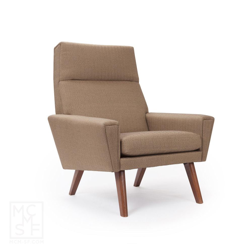 Herringbone Tall Back Chair