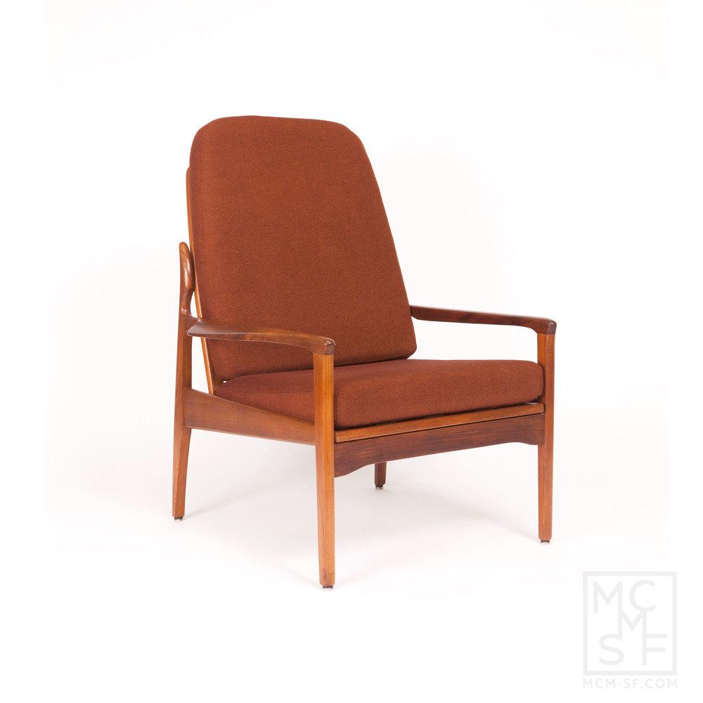Delicieux Vintage Fler Narvik Highback Arm Chair Designed By Fred Lowen