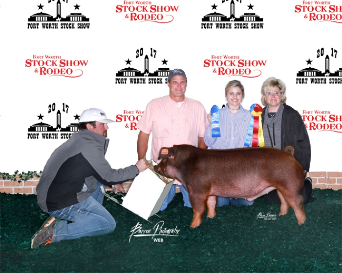 Champion Duroc Barrow | FortWorth Stock Show & Rodeo 2017
