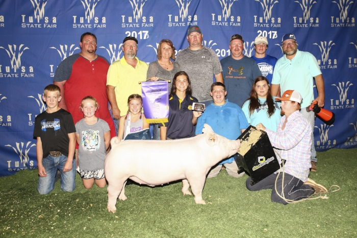 Champion York Barrow | Tulsa State Fair 2017