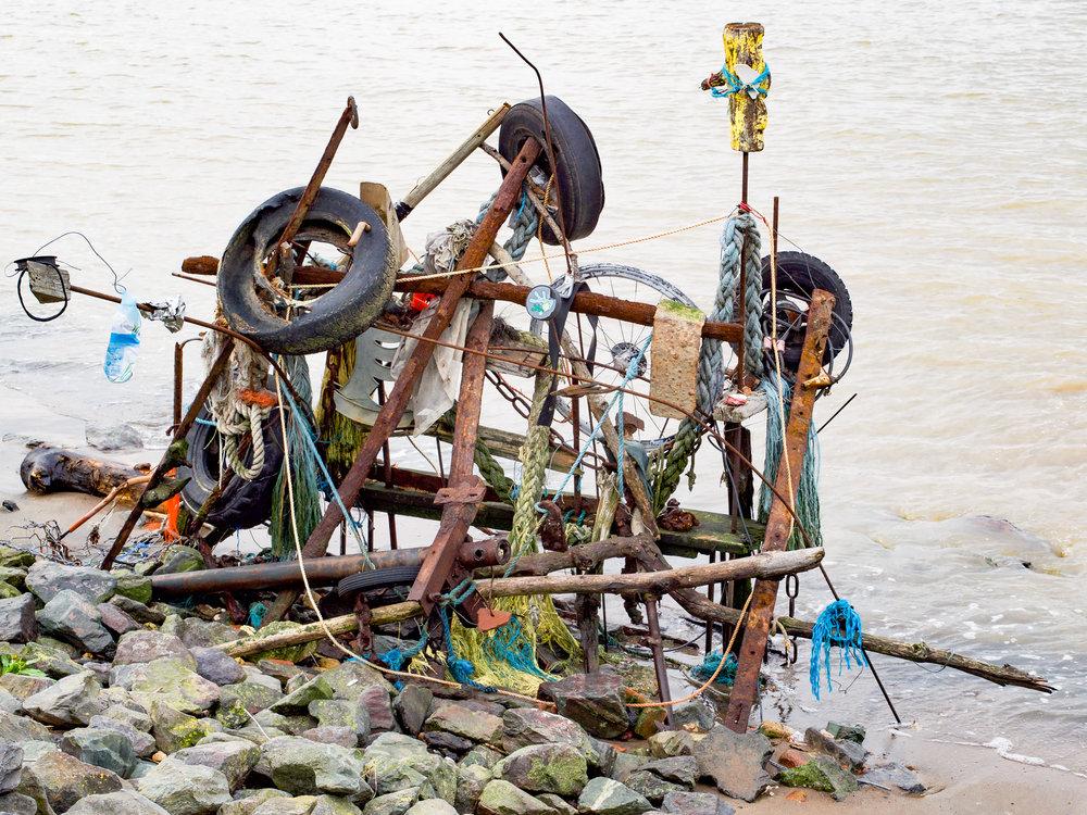 River Thames debris