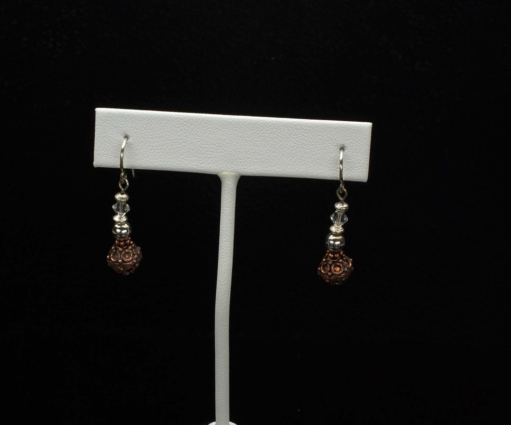 Antique Beads Earrings