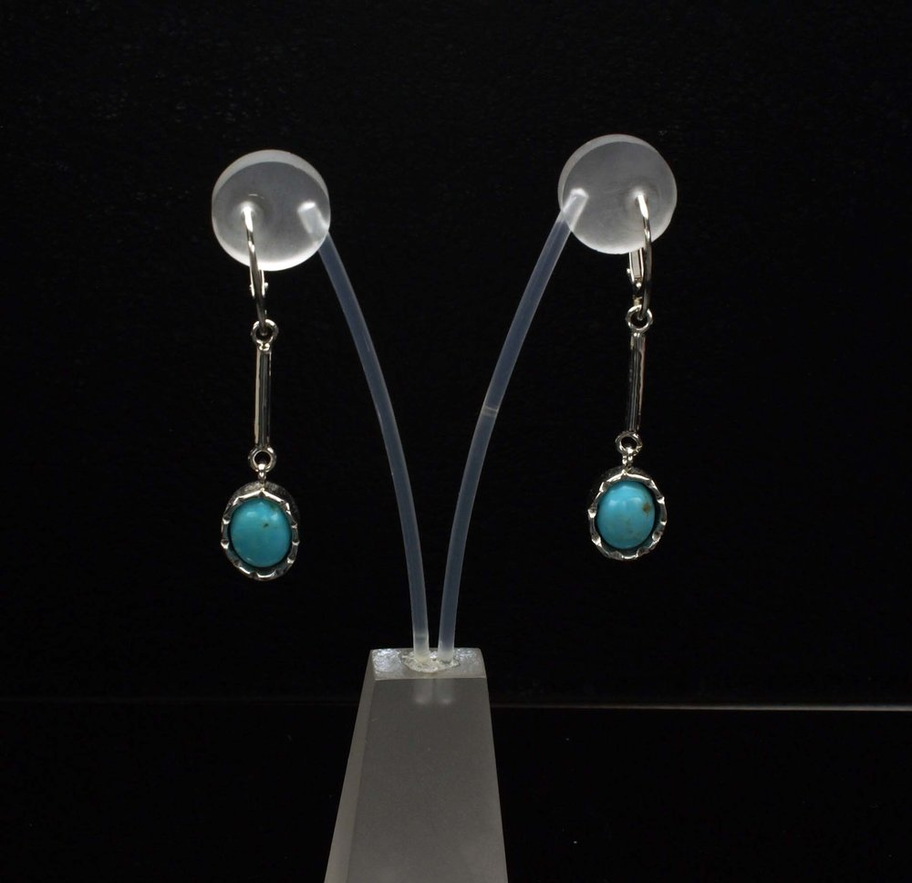Turquoise Hanging Earrings