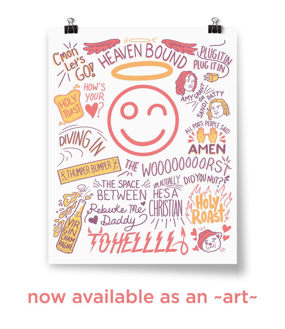 Catchphrase Poster Print