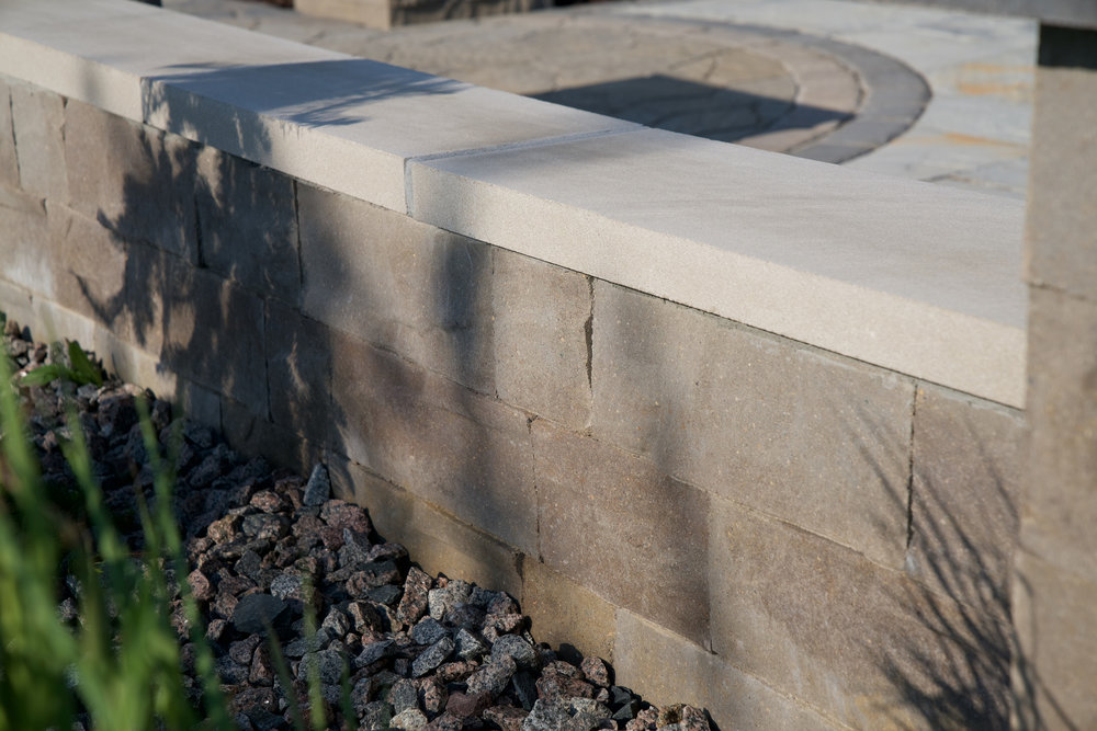 Coping, Caps & Treads - Indiana Limestone