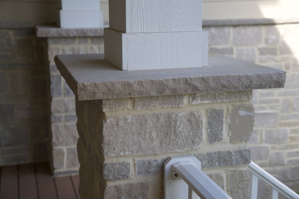 Counters & Caps - Indiana Limestone