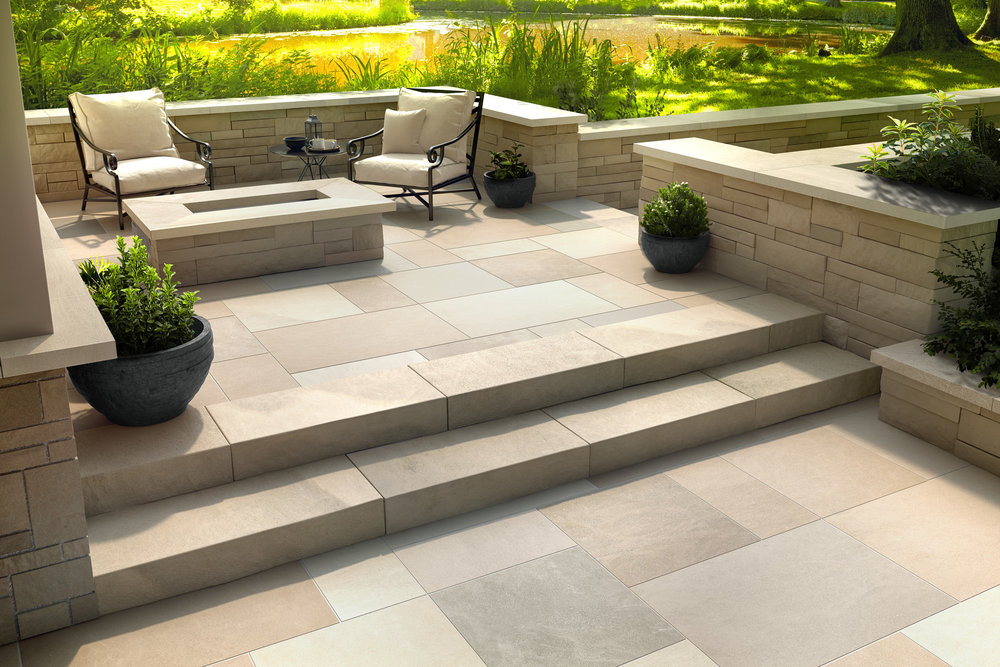 Fire Feature - Indiana Limestone