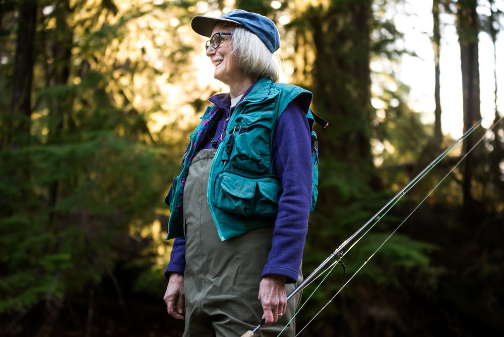 Environmental Activist Joyce Sherman, Lincoln City, Ore.