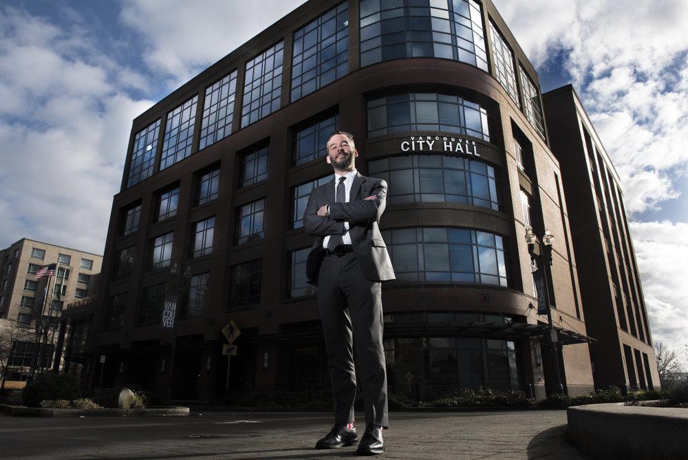 Vancouver City Councilor Erik Paulsen