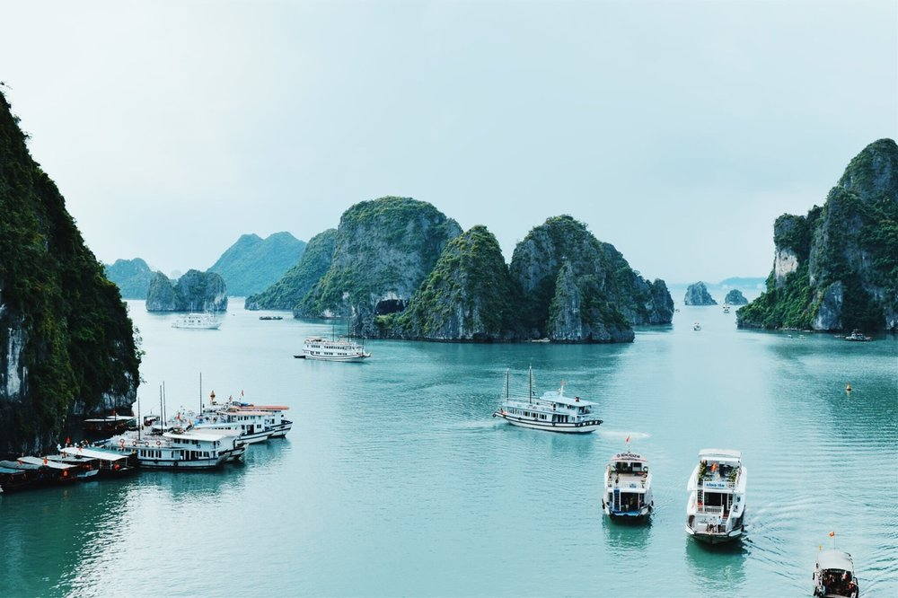 Photo by Carley M. in Ha Long Bay, Vietnam