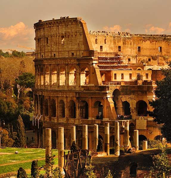 Rome, Paris & London -