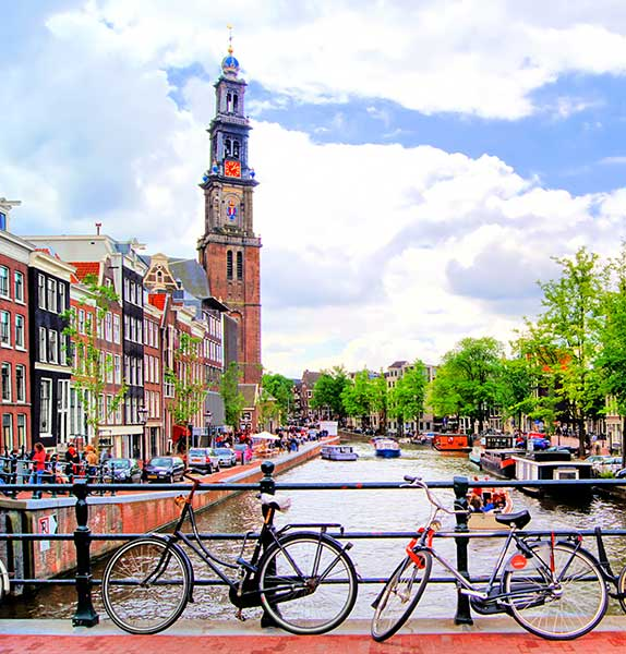 Amsterdam, Paris & London -