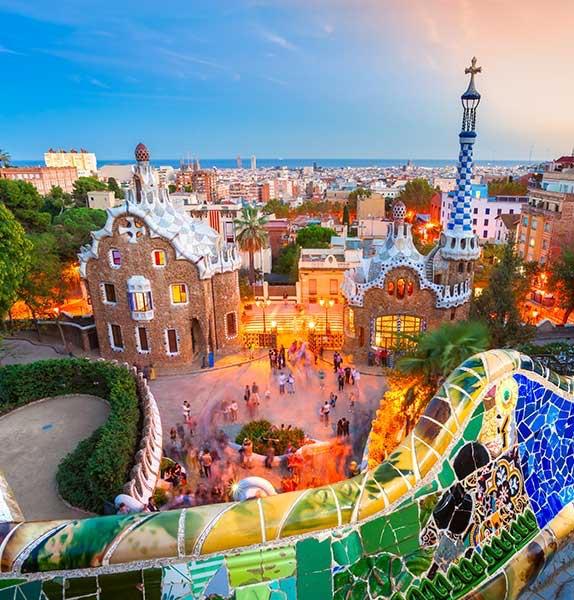 Barcelona, Paris & London -