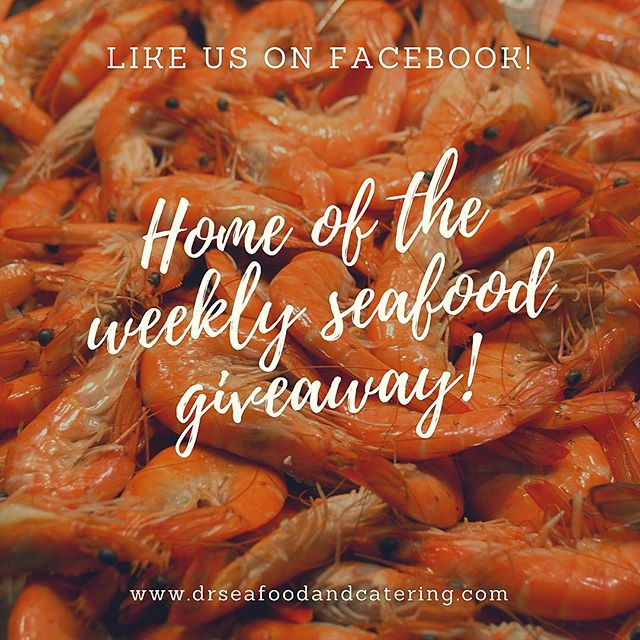 This weekend we are giving away a free pound of steamed shrimp and a quart of our delicious homemade crab soup! 🍤 to enter this random drawing check out our most recent Facebook post!! Good luck to everyone!!! 🦀 #drseafood #crabs #shrimp #seafood #maryland #mdcrabs #bluecrabs #marylandcrabs #winter #cold #crabsoup #soup #weekend #friday #saturday #sunday #january #newyear #newme