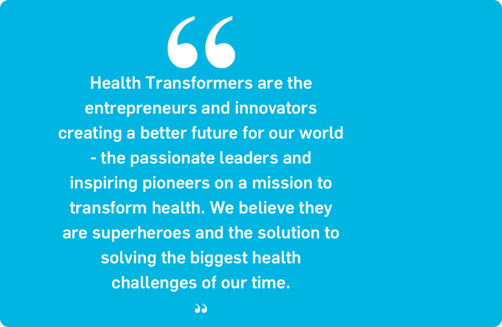 StartUp Health Coins Term Health Transformer™ to Recognize Super-Entrepreneurs Focusing on Health Innovation - June 2011
