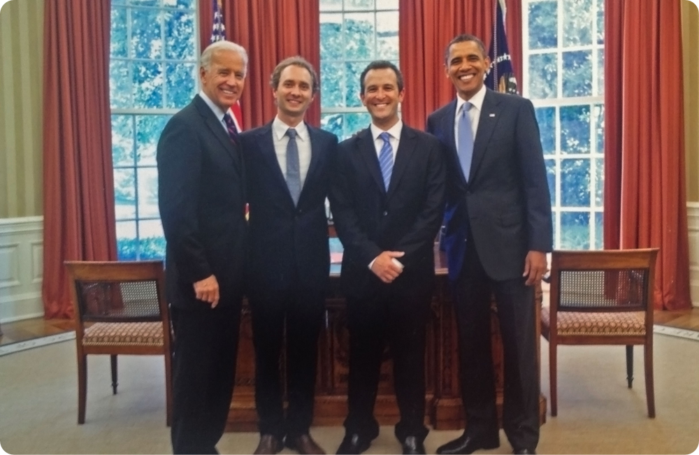 President Obama and Vice President Biden Meet With StartUp Health Co-Founders to Discuss Transformation of Health - June 2011