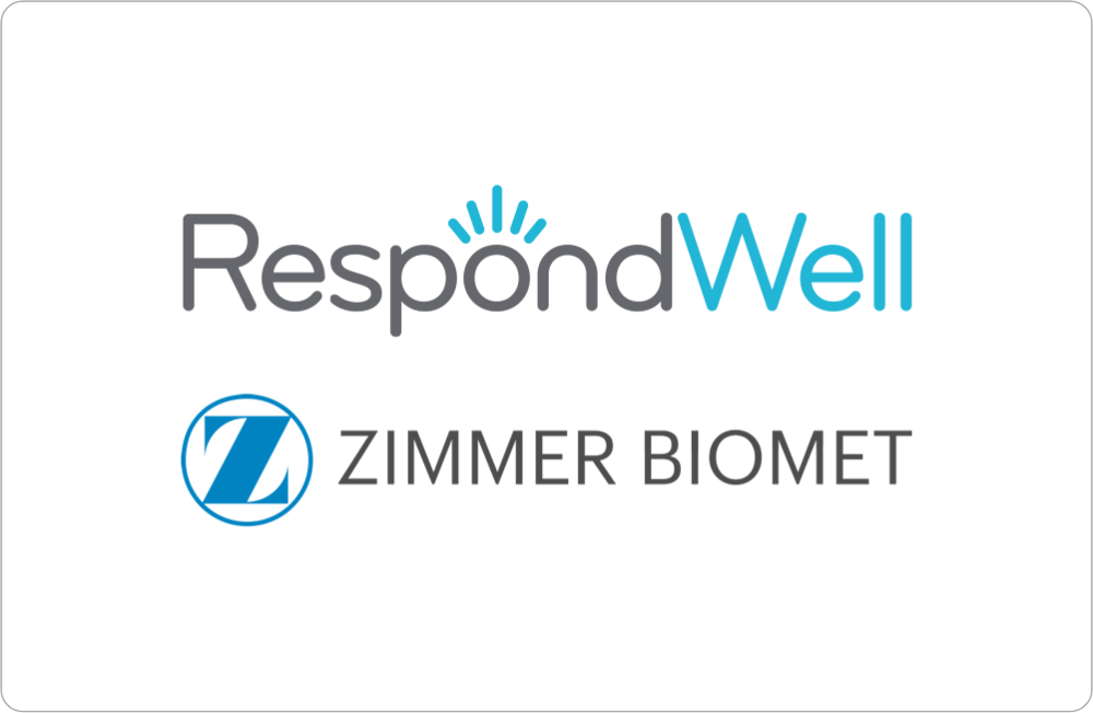 Zimmer Biomet  Acquires StartUp Health Company RespondWell - October 2016