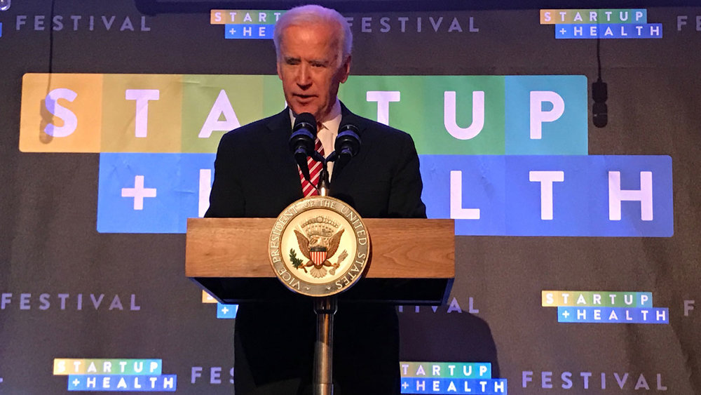 VP Biden Meets With Health Transformers at StartUp Health Festival - Jan. 12, 2017