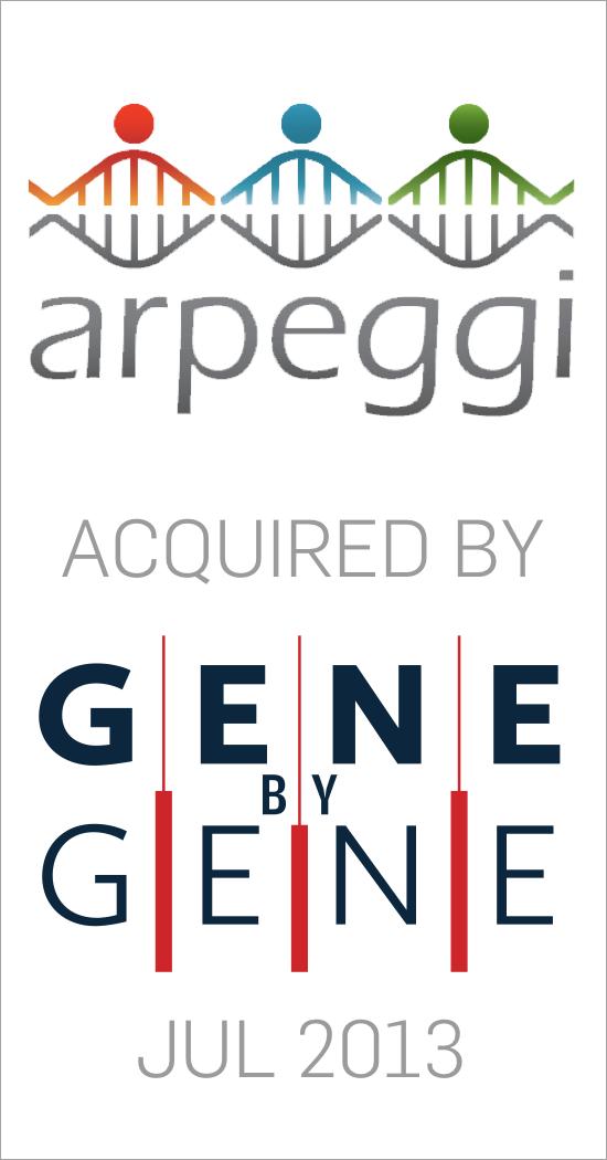 Arpeggi acquired by Gene by Gene