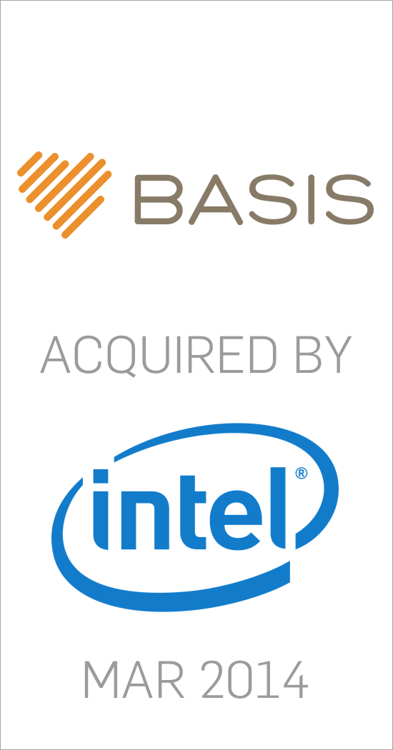 Basis acquired by Intel