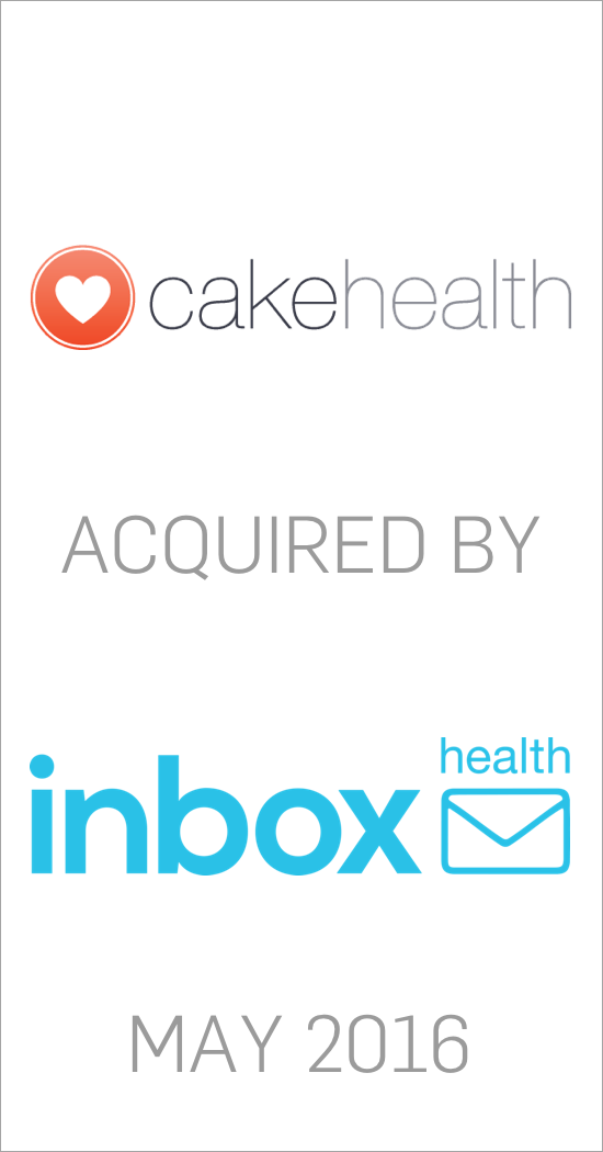 Cakehealth acquired by Inbox Health