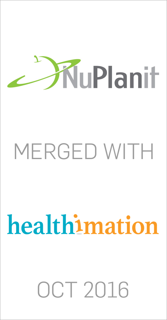 NuPlanit merged with Healthimation