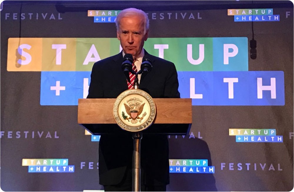 StartUp Health Announces Vice President Joe Biden to Keynote Sixth Annual StartUp Health Festival - December 2017