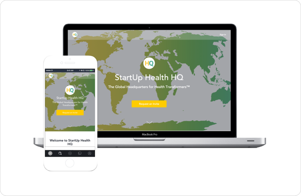 Launch of StartUp Health HQ, a Global Virtual Headquarters for Health Transformers and Members of the StartUp Health Network - December 2017