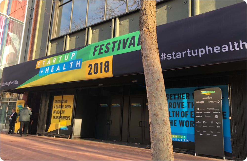 2,000+ Innovators From 40 Countries Join 220 Health Transformers From 110 StartUp Health Companies at the 2018 StartUp Health Festival - January 2018