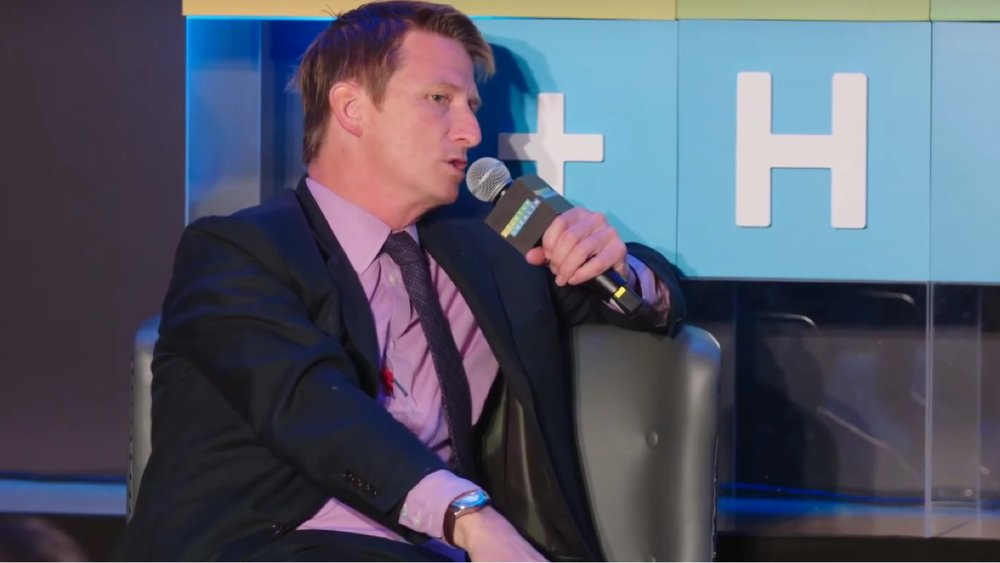 Jonathan Bush Drops Knowledge at StartUp Health Festival - Mar. 30, 2016