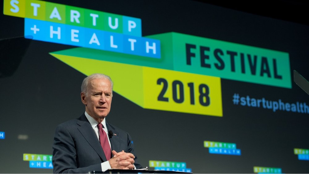 The Urgency Is Now: Joe Biden's Keynote at the StartUp Health Festival - Feb. 14, 2018