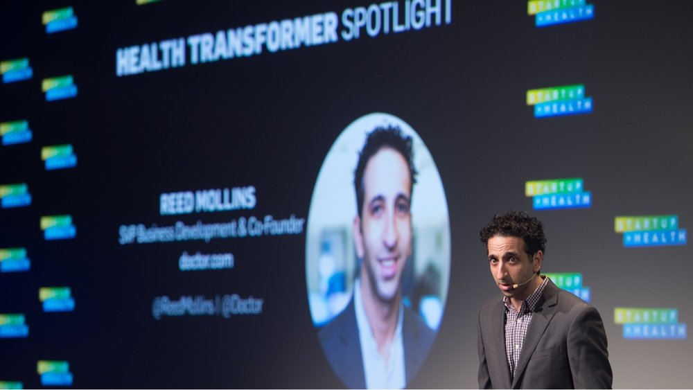 Health Transformer Spotlight: Reed Mollins, Doctor.com - Mar. 21, 2018