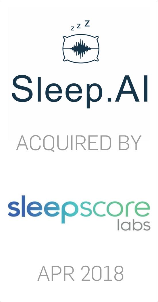 Sleep.ai acquired by Sleepscore Labs