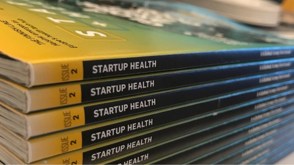 StartUp Health Launches Print Magazine Charting the Future of Health - Sep. 19, 2018