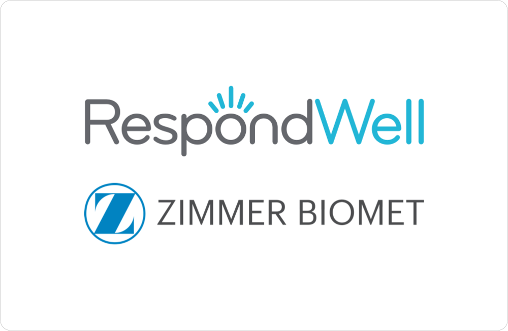 Zimmer BiometAcquires StartUp Health Company RespondWell - October 2016
