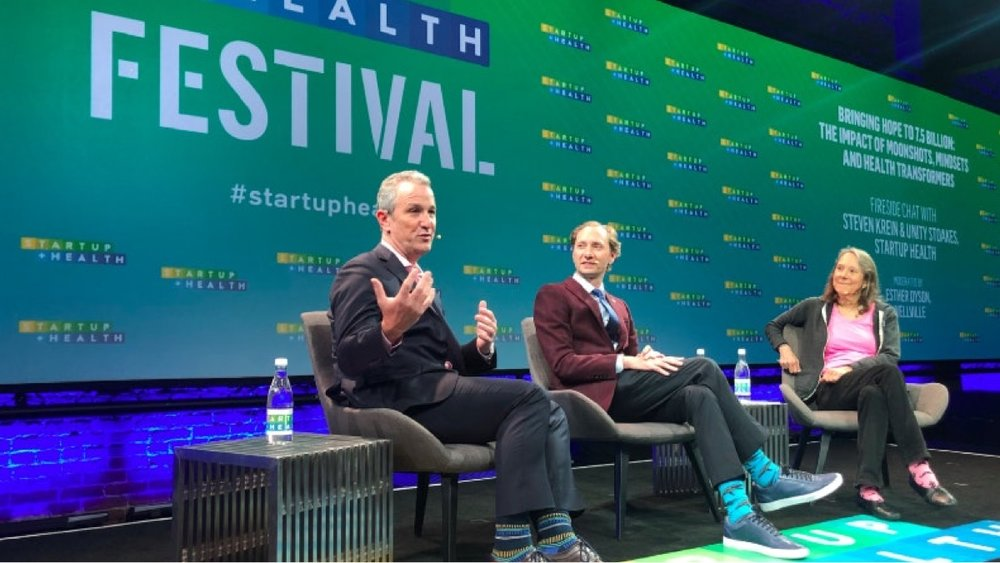 Cue Highlight Reel: Our Top 10 Moonshot Moments of the 2019 StartUp Health Festival - Jan. 9, 2019