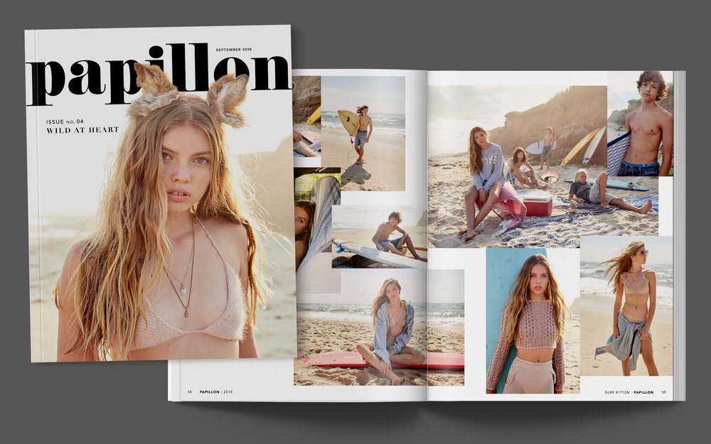 No. 04WILD AT HEART - (96-page printed magazine)