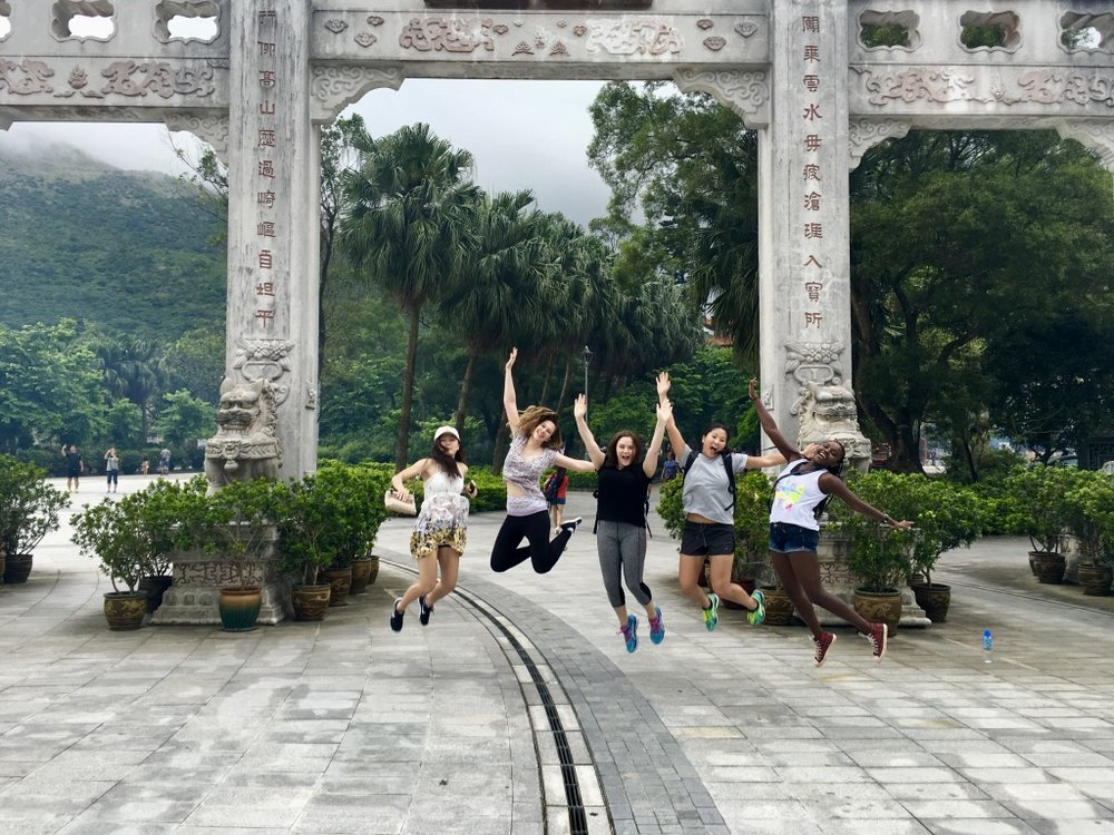 Members of the Sage Corps 2016 Summer cohort in Hong Kong