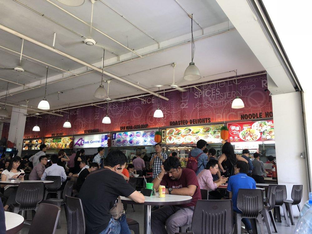 Singapore-Hawker-Center